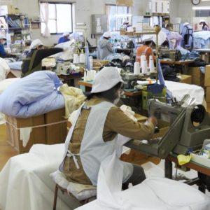 国内工場で生産